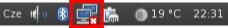 Linux (Gnome) - Panel s hodinami